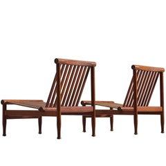 Kai Lyngfeldt-Larsen Pair of Teak Easy Chairs