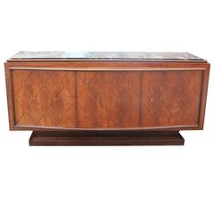 French Art Deco Palisander Buffet by Challeyssin