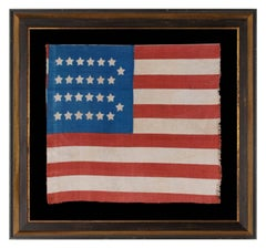 Extremely Rare, Cotton, Antiques American Parade Flag with 26 Stars