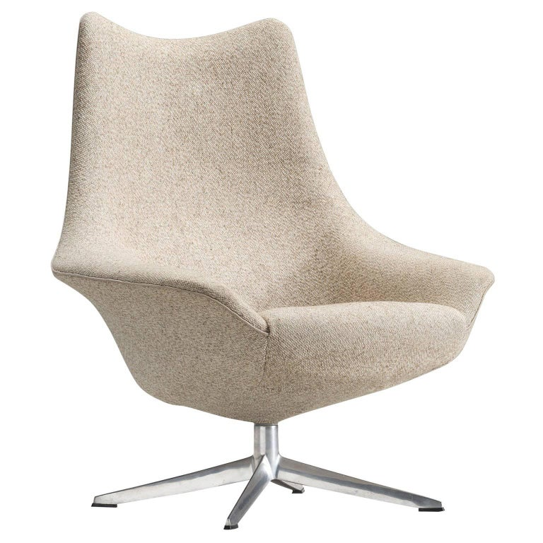 H.W. Klein Swivel Chair for Bramin Møbler, 1960s