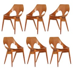Set of Six Jason Chair by Carl Jacobs