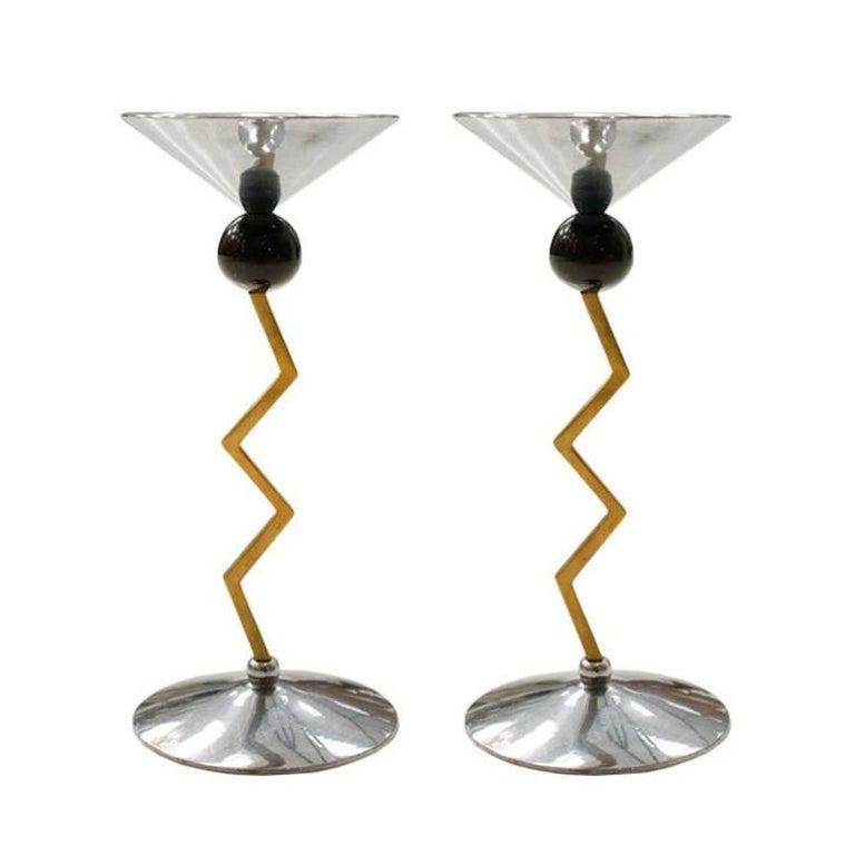 Pair of Italian Candlesticks 1