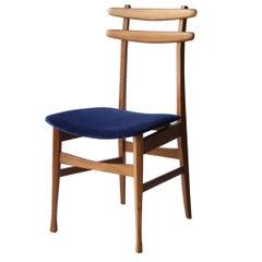 Set of Six Chairs Attributed to Vittorio Dassi Italia, 1950