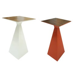 Set of 2 Wood Cocktail Tables
