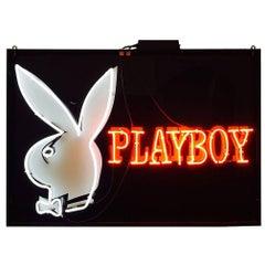Vintage Playboy Bunny Neon Sign