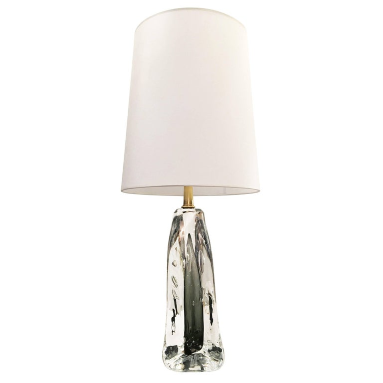 """""""Bolla"""" Infused Glass Table Lamp by Esperia  for Gaspare Asaro"""