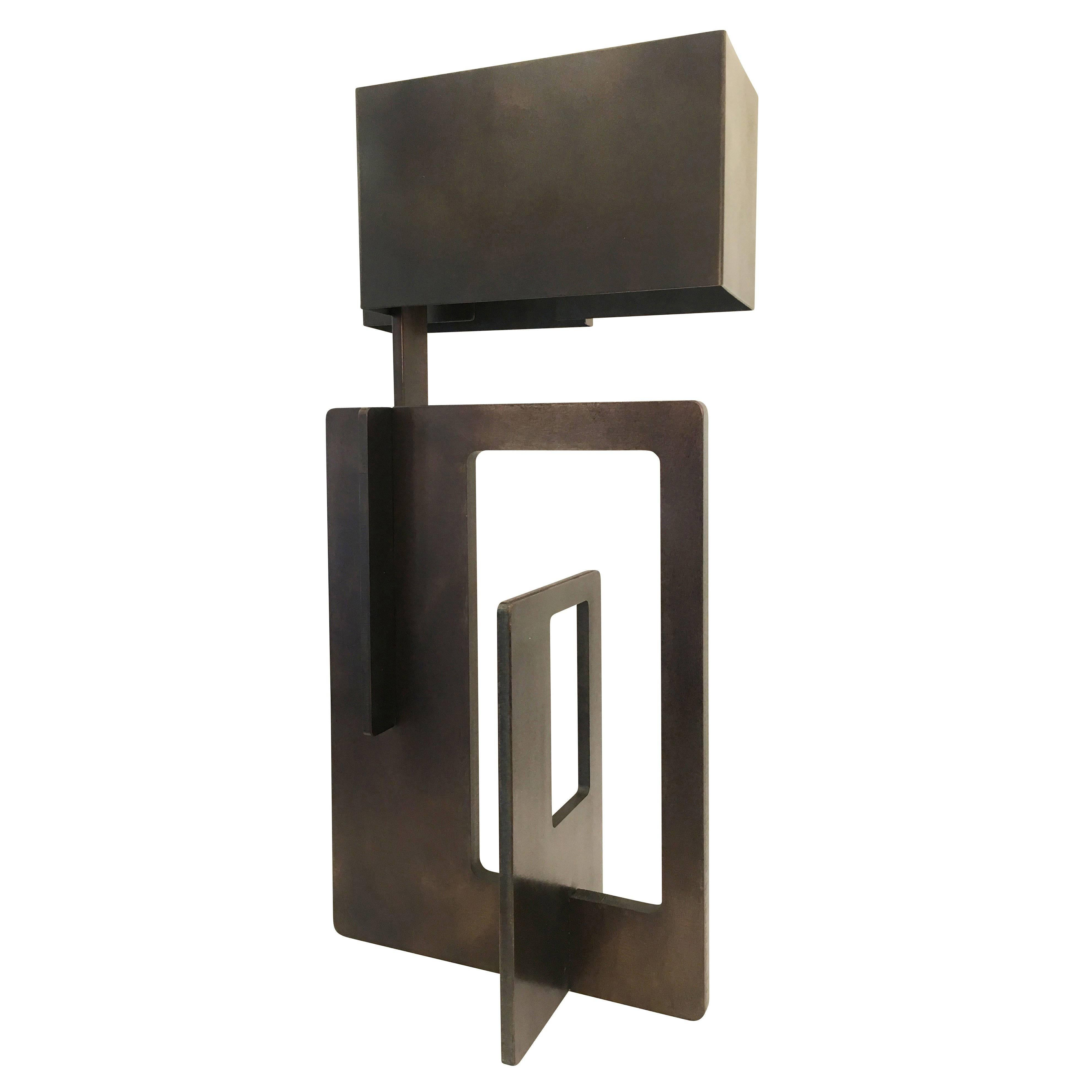 """""""Kit"""" Iron Table Lamp by Esperia for Gaspare Asaro"""
