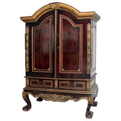 Wood Cabinet from Central Java, Solo Royal Family
