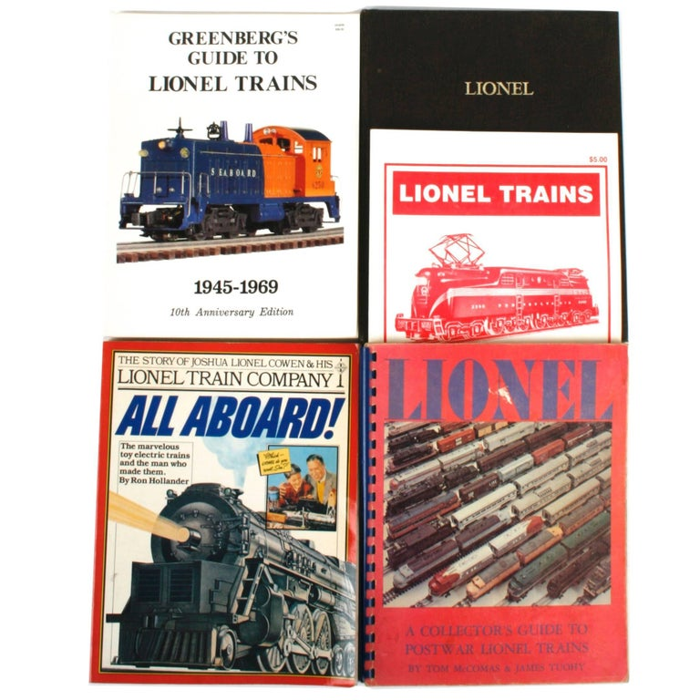 Five Books on Lionel Toy Trains