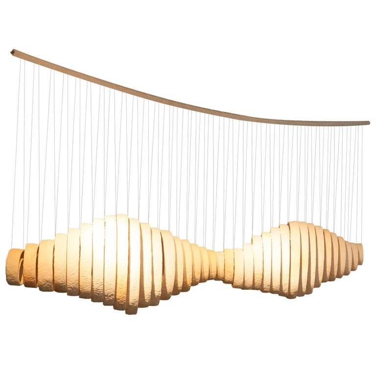 Joanna Poag Ceramic Lemniscate Sculpture, 2013 For Sale