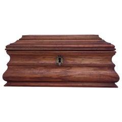 Antique Wooden Italian Jewelry Box