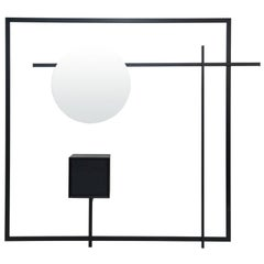 Black Steel Wardrobe COM:POS:ITION 2.2 Contemporary Handcrafted  Customizable