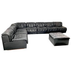 De Sede DS 11 Patchwork Vintage Leather Couch