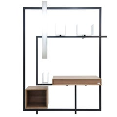 Contemporary Desk Secretary COM:POS:ITION 1.6 Minimalist  Design Customizable