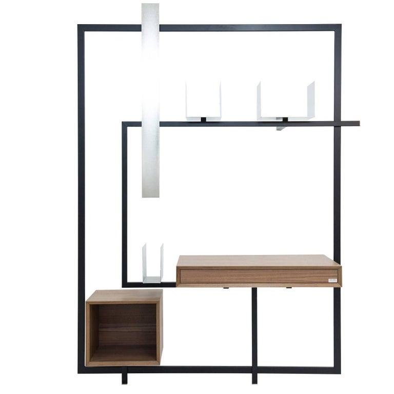 Contemporary Desk Secretary COM:POS:ITION 1.6 Minimalist  Design Customizable
