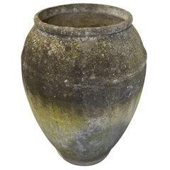 Modern French Cast Concrete Urn