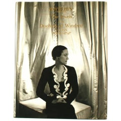 Sotheby's the Jewels of the Duchess of Windsor, Auction Catalog, 1987
