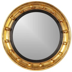 Small Antique Bullseye Mirror