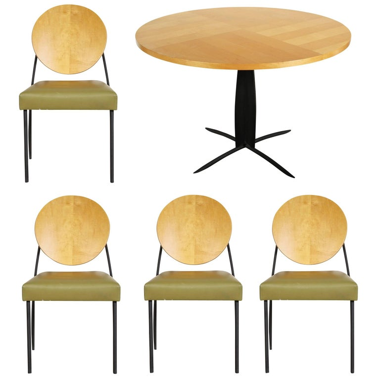 Dakota Jackson Vintage Table and Four Chairs