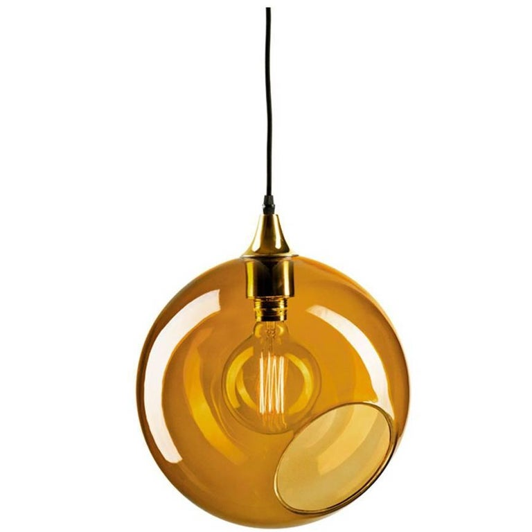 Ballroom extra large amber pendant with brass edge gold socket ballroom extra large amber pendant with brass edge gold socket ceiling lamp for sale aloadofball Images