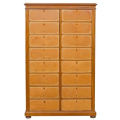 English Mahogany File Cabinet