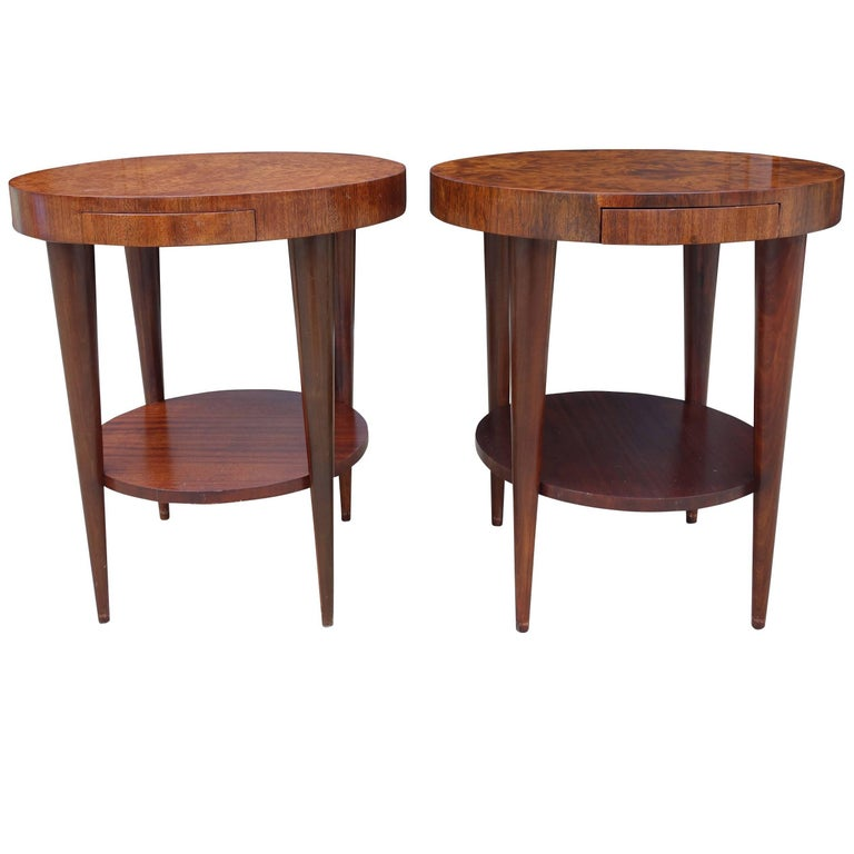 Occasional Tables by Gilbert Rohde for Herman Miller, Pair