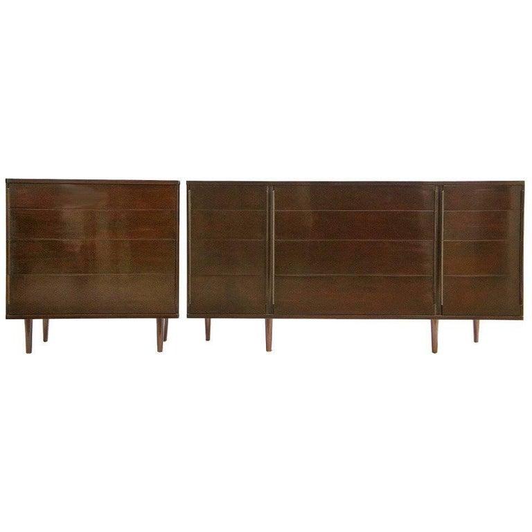 Set of Edward Wormley Dressers