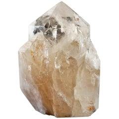 Freestanding Citrine Quartz Crystal Cluster, Brazil.
