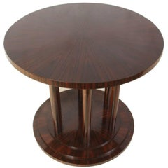 Macassar Ebony Centre Table, circa 1970