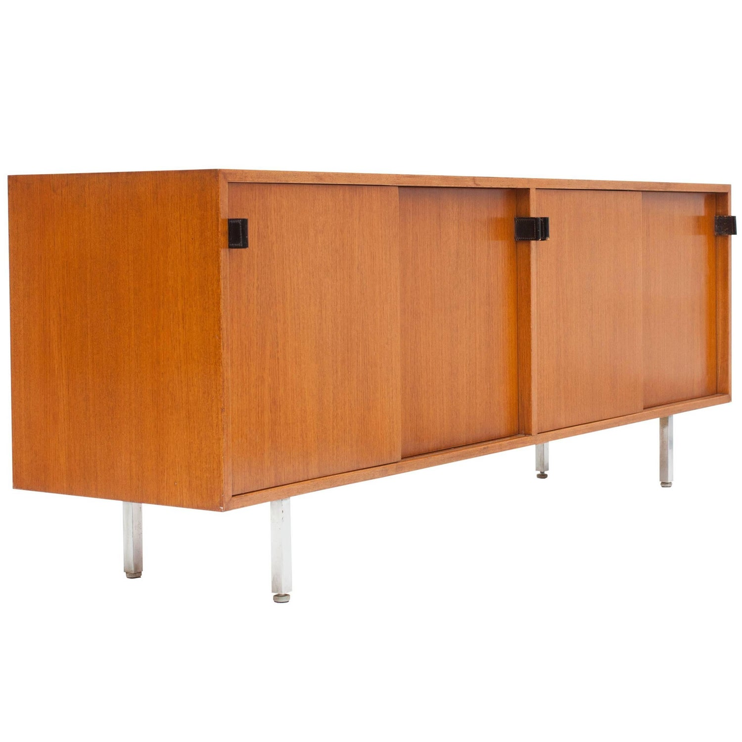 Modern Credenza in Teak by Florence Knoll, Manufactured by De Coene, 1950s