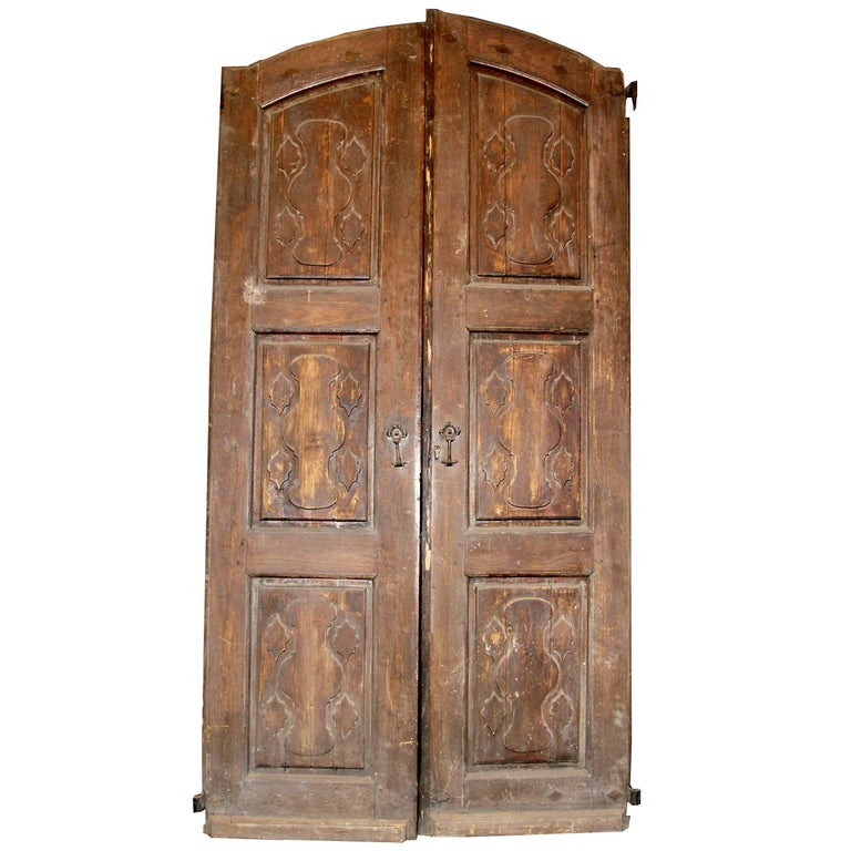 Antique double door for sale at 1stdibs for Double doors for sale