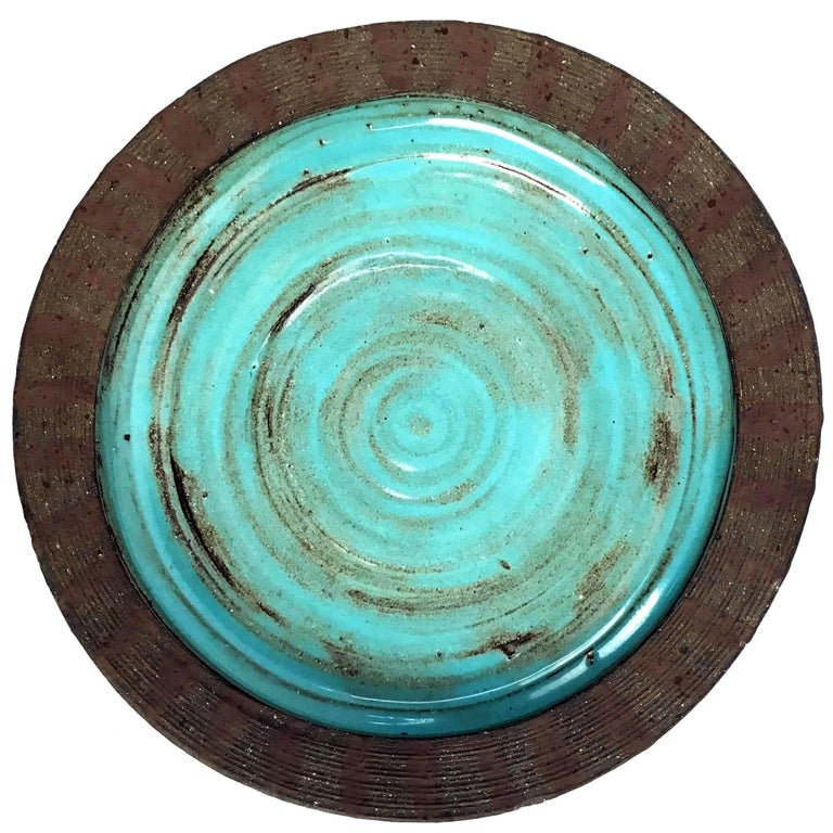 Mid-Century Ceramic Bowl by Mary Grote 1