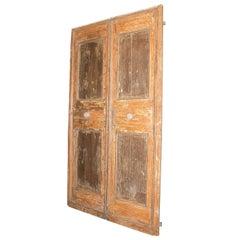 Antique Lacquered Double Door