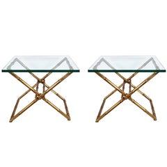 Pair of Italian Midcentury End Tables
