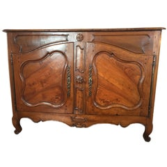 Louis XV Country French Carved Sideboard, End of 1700