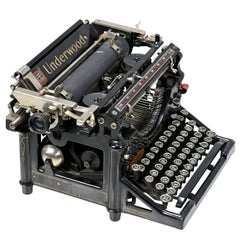 Fully Functioning Early 20th Century Underwood No. 5 typewriter Serial #23201