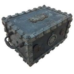 19th Century Metal Coffre Box