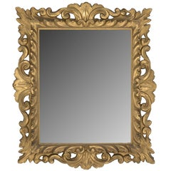 18th Century Italian Carved Mirror