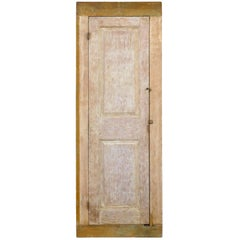 18th Century Wood Storage Cabinet