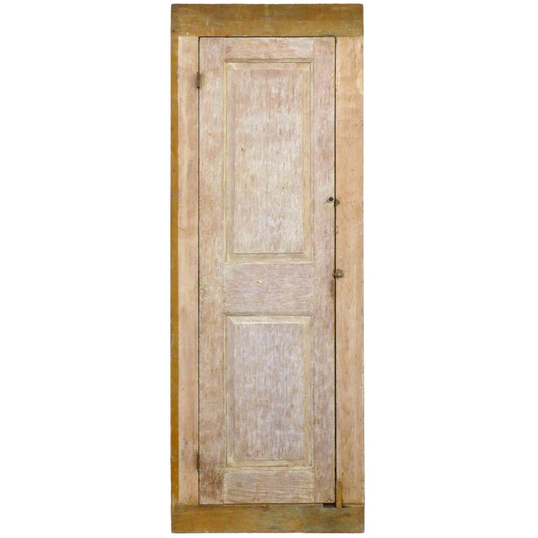 18th Century Wood Storage Cabinet For Sale
