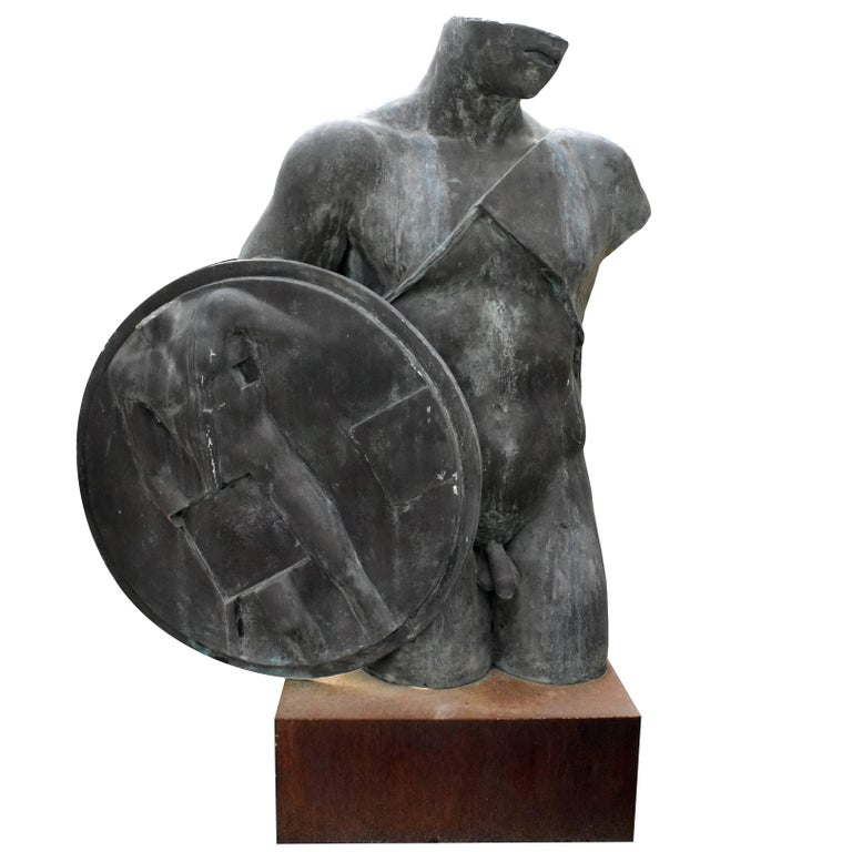 """Igor Mitoraj Bronze Sculpture """"Quirinus"""" Signed """"Mitoraj"""" / Numbered """"2/2"""""""