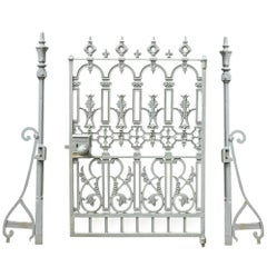 19th Century 'W.A Baker & Company' Cast Iron Gate