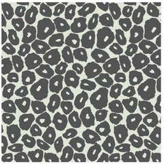 Porter Teleo Organic Organization in Grey Contemporary Wallpaper Two Roll Set