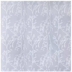 Porter Teleo New Growth Lavender and Cream Contemporary Wallpaper Two Roll Set