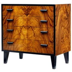 1950s Scandinavian Art Deco Design Small Chest of Drawers