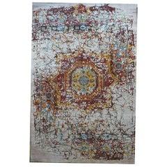 Soft Bright Design Handmade Carpet