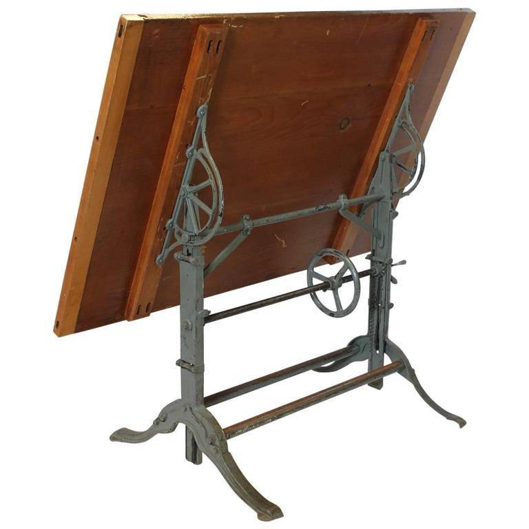 1930s American Architect Drafting Table