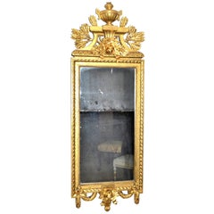 Swedish Gustavian Style Carved Giltwood Mirror