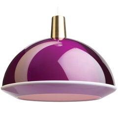 Yki Nummi Purple 'Kuplat' Pendant for Innolux Oy, Finland