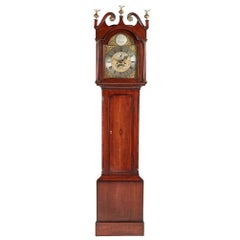 George III Brass Face Longcase Clock